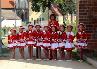 Kindergarde Rot Weiße Fünkchen