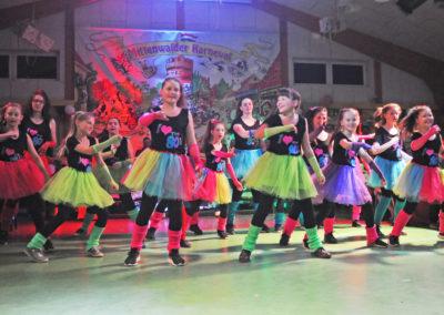 Tanzgruppe die Hexen