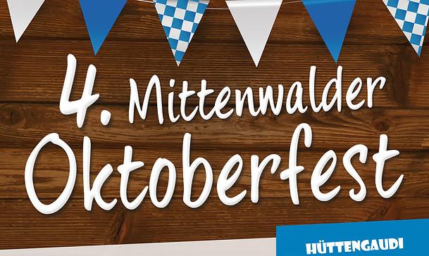 Auftritt beim 4. Mittenwalder Oktoberfest